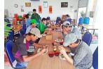 Quán cơm chay 0 đồng nổi tiếng tại khu đô thị Phúc An City