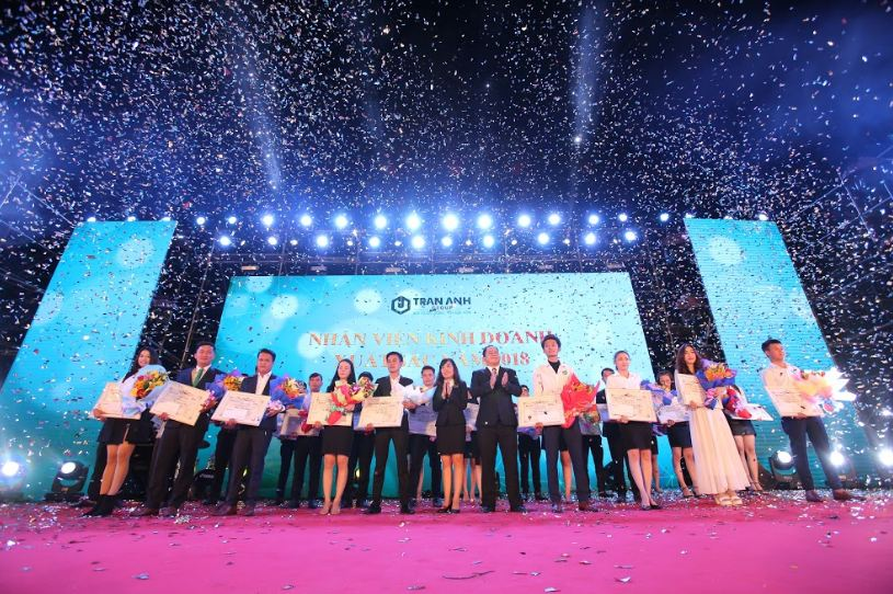 Year-End-Party Trần Anh Group 2018 hình 1